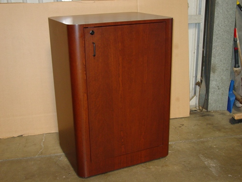 RC 20 Red Cherry Rack Cabinet  Front